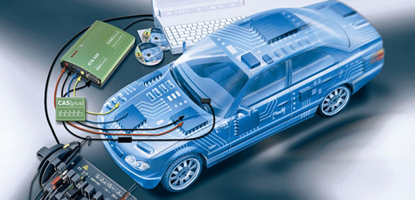 диагностика электроники машины