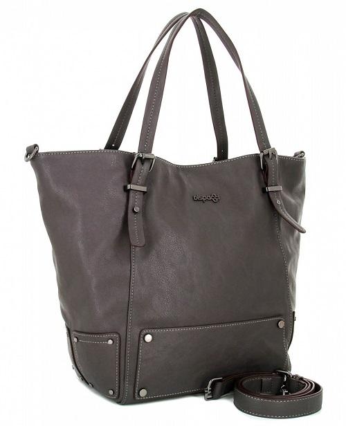 Стильная кожаная женская сумка