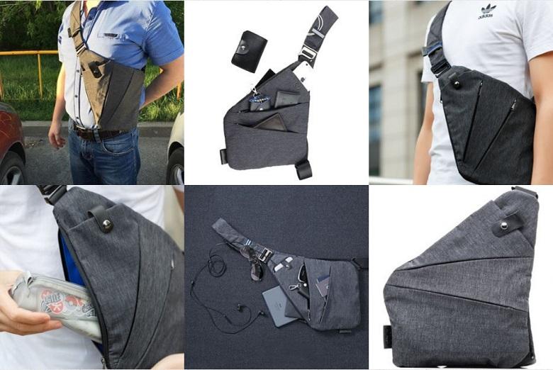 3fe826f93265 Мужская сумка кобура Niid Fino | minedevice.ru