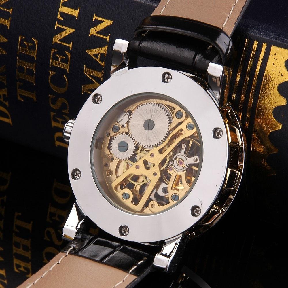 Аксессуары часы наручные и карманные  мужские механические часы winner серия sport.