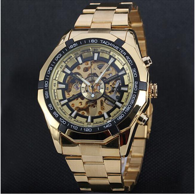 719d7e91 Золотые механические часы Winner купить