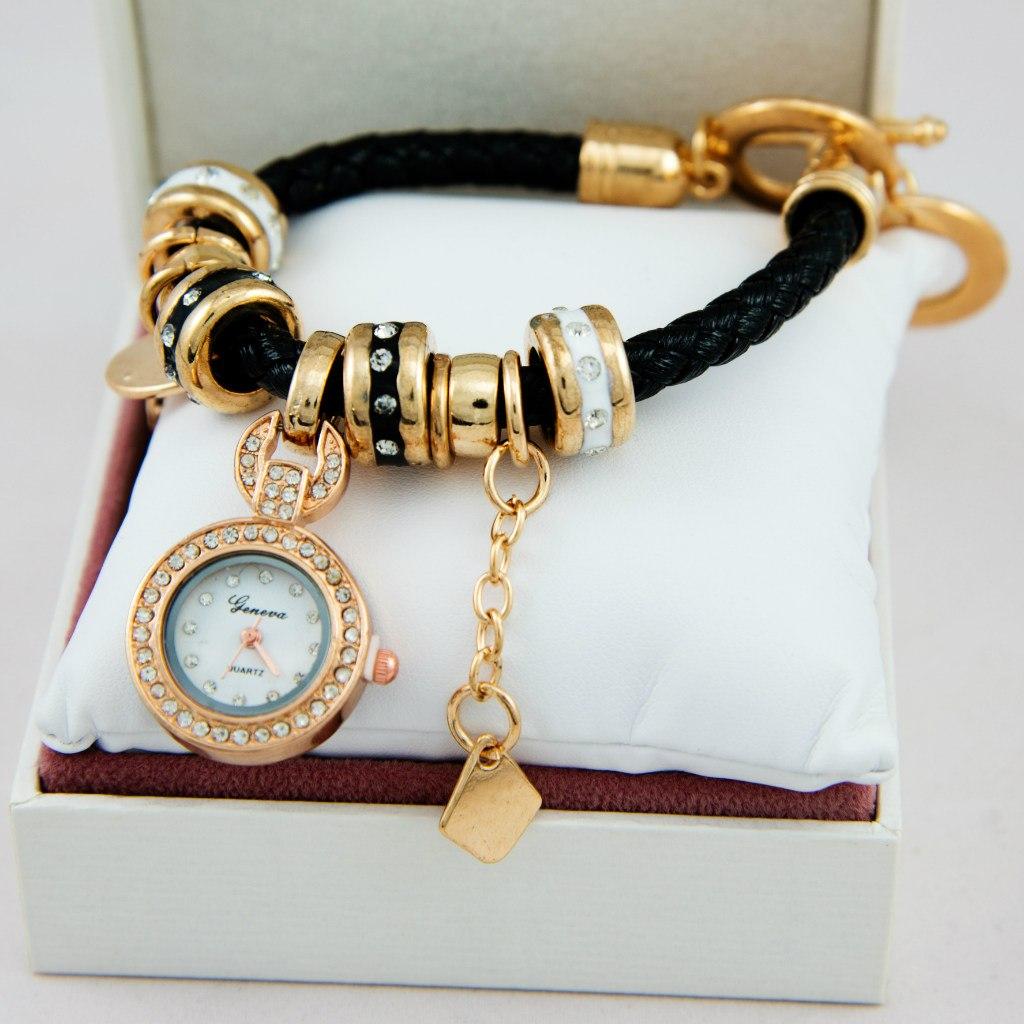Часы Geneve в стиле Pandora купить d0c875e7afd